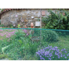 Imagén: Декоративна пластмасова ограда MINISQUARE 1x5m - кафява