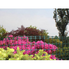 Imagén: Декоративна ограда MEGASQUARE 1x5м - кафява