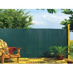 Imagén: Eднолицева пластмасова ограда PLASTICANE, 1.5x3m - зелен