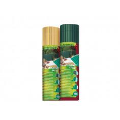 Imagén: Пластмасова ограда PLASTICANE OVAL, 1x3 m - цвят бамбук (бежов)