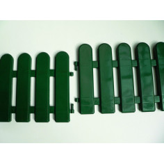 Imagén: Пластмасова ограда FLORA BORDER - 0.2x0.5 м / 5 бр. в комплект