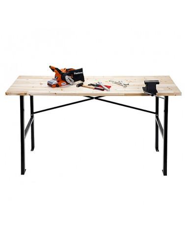 Работна маса - дървен плот