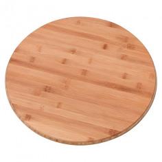 Въртяща се дъска за сервиране, 40 см, бамбук