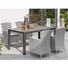 Градински комплект, маса и 4 стола
