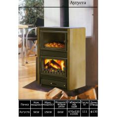 Гатварска печка на дърва...