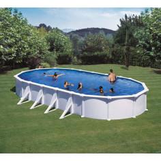 Сглобяем басейн с метална стена овал 1000 X 550 h 132см.