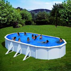 Сглобяем басейн с метална...