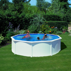 Сглобяем басейн с метална стена кръг ф550, h 120см.