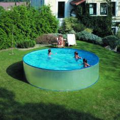 Сглобяем басейн с метална стена кръг ф450 h 90см.