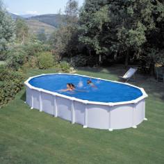 Сглобяем басейн с метална стена овал 730 x 375 h, 132см.