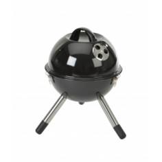 Барбекю за дървени въглища преносимо-37х46х37см