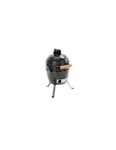 Мини Керамично барбекю КАМАДО на дървени въглища диам. 32х57см