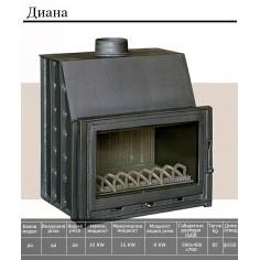 Imagén: Горивна камера за камина - с водна риза Диана, 10 кW