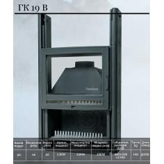 Горивна камера за камина - ГК19В, суха, 12 кW