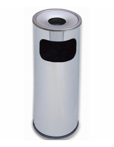 Кош за отпадъци с пепелник -  200 x 600 мм