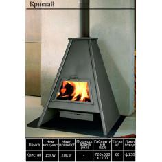 Печка на твърдо гориво Кристай - 15 kW
