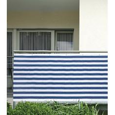 Покривало за визуална защитаl, 0,9х5,0 м, синьо-бяло