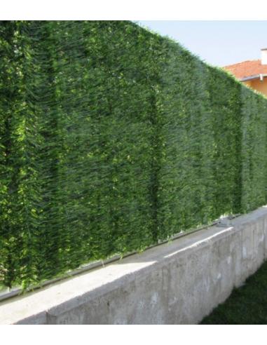 Изкуствено озеленяване за ограда, модел бор, 1,2х3,0 м