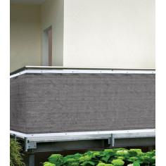 Покривало за визуална защитаl, 0,9х5,0 м, сиво