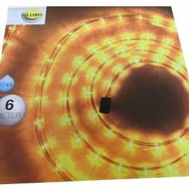 Светлинен маркуч - 6 m, жълт