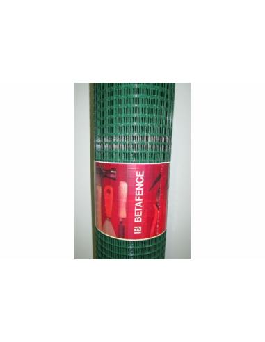 Рабицова плетена мрежа - зелена, 1х5 м