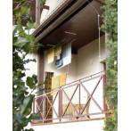 Таванен простор, 140 см, монтиран на балкон