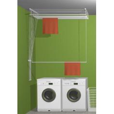 таванен простор, 180 см, монтиран на тавана в перално помещение