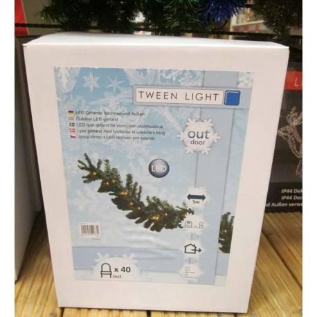 Коледни лампички -100 leds, за интериор, 10 м, 8 програми