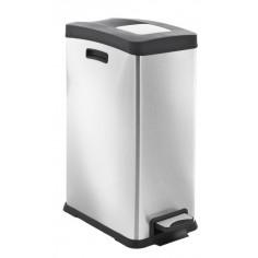 """Кош за събиране на отпадъци с педал """"REJOICE"""" - 30 литра - мат EKO"""