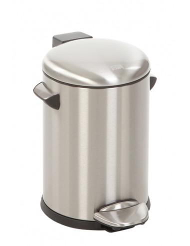 "Кош за отпадъци с педал  ""BELLE DELUXE""- 3 литра - мат EKO"
