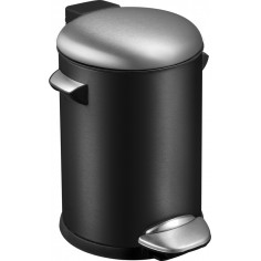 "Кош за отпадъци с педал  ""BELLE DELUXE""- 3 литра - черен EKO"