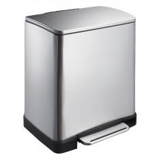 """Кош за отпадъци с педал """"E-CUBE"""" - 30 литра - мат EKO"""
