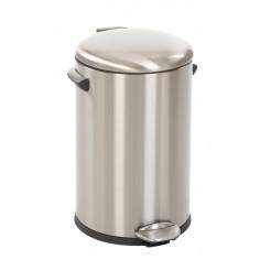 "Кош за отпадъци с педал  ""BELLE DELUXE""- 12 литра - мат EKO"