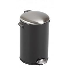 "Кош за отпадъци с педал  ""BELLE DELUXE""- 12 литра - черен EKO"