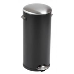 "Кош за отпадъци с педал  ""BELLE DELUXE""- 30 литра - черен EKO"
