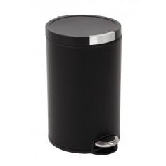 """Кош за отпадъци с педал """"ARTISTIC"""" - 20 литра - черен EKO"""