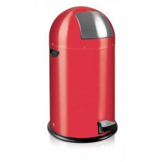 """Кош за отпадъци с педал """"KICK CAN"""" - 33 литра - червен EKO"""