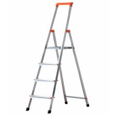 Сгъваема алуминиева стълба -  4 стъпала