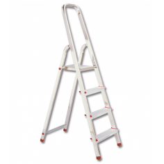 Сгъваема алуминиева стълба - 5 стъпала