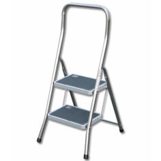 Сгъваема алуминиева стълба - 2 стъпала