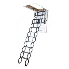 Imagén: Метална таванска стълба OptiStep OST - 70 х 120 см - топлоизолирана