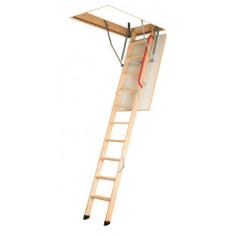 Imagén: Дървена таванска стълба OptiStep OLE - 120 х 70 см