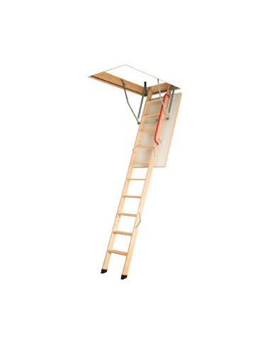 Дървена таванска стълба OptiStep OLE - 70 х 120 см