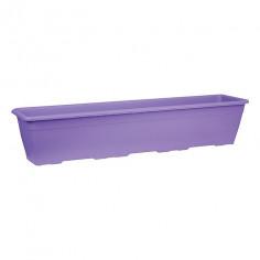 Imagén: Балконско сандъче за цветя Domus - Виолетово, 80x20 см