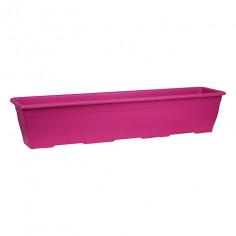Балконско сандъче за цветя - розово, 80x20 см