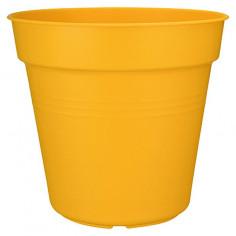 Саксия за цветя, 30x27,6 см, жълта