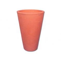 Ваза 63 см, цвят теракота