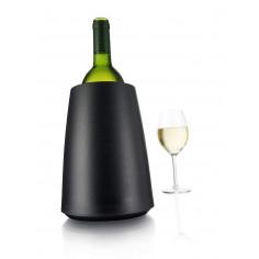 """Охладител за бутилки """"ELEGANT"""" - черен - Vacu Vin"""