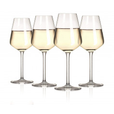 "Сет чаши за бяло вино ""The Wine Show"" - 4 бр. - Vacu Vin"