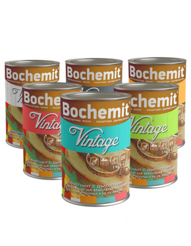 Маслено - алкиден импрегнант - графит 1 кг, Бохемит Vintage